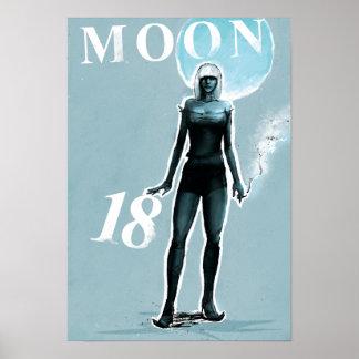 Moon 18 print