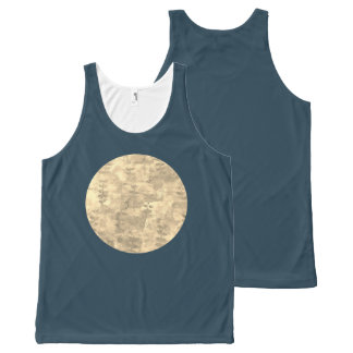 Moon All-Over Print Singlet
