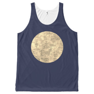 Moon All-Over Print Tank Top
