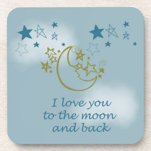 Moon and Back Coasters