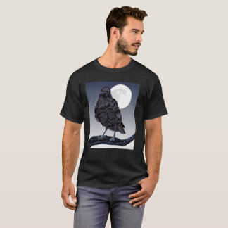 Moon and Bird Watching T-Shirt