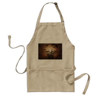 Moon and Cirrus Clouds Apron