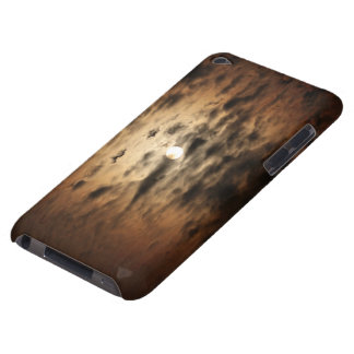 Moon and Cirrus Clouds iPod Case-Mate Cases