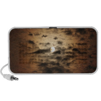 Moon and Cirrus Clouds iPhone Speaker