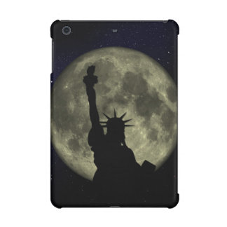 Moon and Lady Liberty