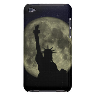Moon and Lady Liberty Barely There iPod Case