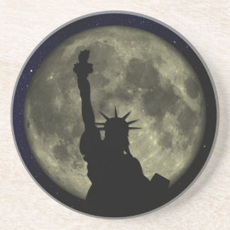 Moon and Lady Liberty Coaster
