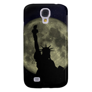 Moon and Lady Liberty Galaxy S4 Covers