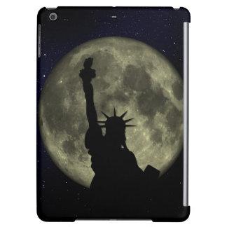 Moon and Lady Liberty iPad Air Cover