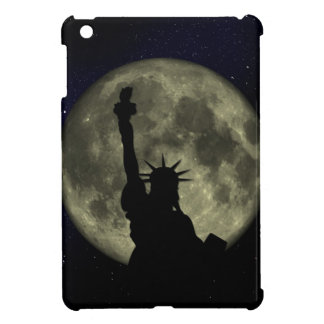 Moon and Lady Liberty iPad Mini Case