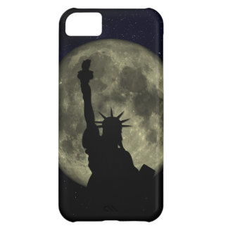 Moon and Lady Liberty iPhone 5C Case