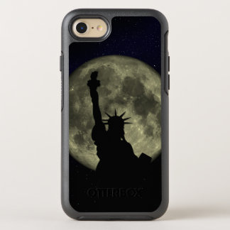 Moon and Lady Liberty OtterBox Symmetry iPhone 7 Case