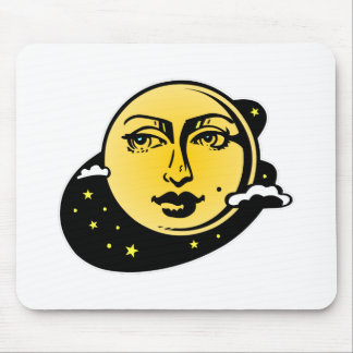 Moon and Stars Astrology 002 Mousepad