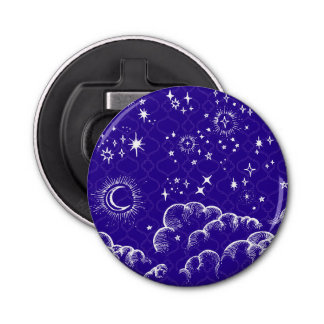 """Moon and Stars"" Bottle Opener (WH/BLU/PUR)"