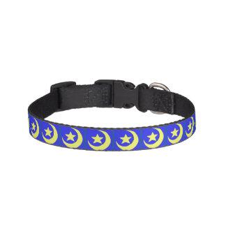 Moon and Stars Dog Collar