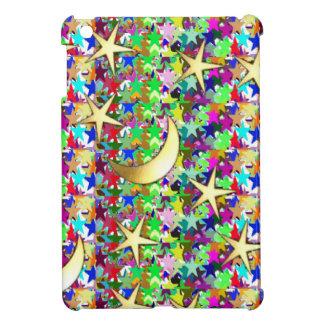 Moon and Stars : Elegant Starry night background iPad Mini Cases