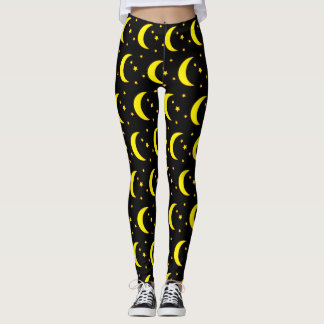 Moon and Stars Leggings