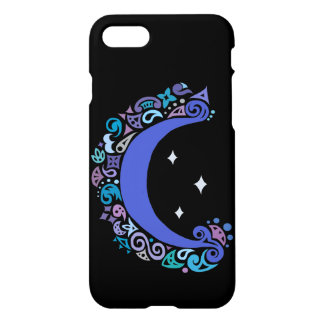 Moon and Stars Phone Case