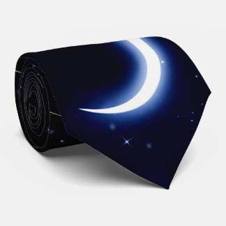 Moon and Stars Tie