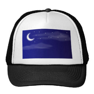 Moon And Stars Trucker Hats