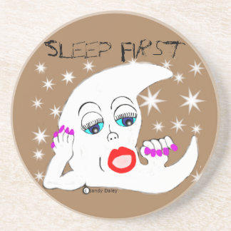 Moon and The Stars...and Sleep is What We Need Beverage Coasters