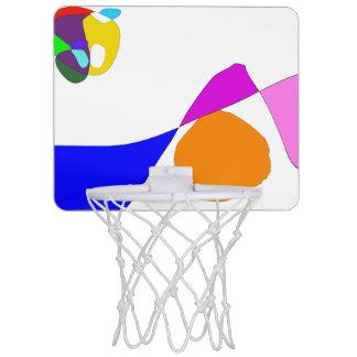 Moon and Wave Mini Basketball Hoop