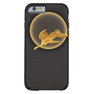 Moon and wild geese tough iPhone 6 case