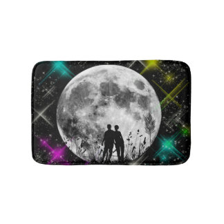 Moon Art Bathmat