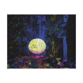 Moon Art Beautiful Dream Gallery Wrap Canvas