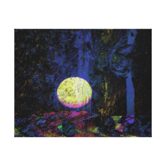 Moon Art Beautiful Dream Canvas Prints