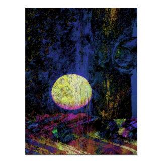 Moon Art Beautiful Dream Postcard