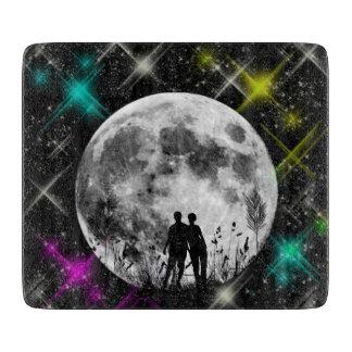 Moon Art - Cutting Board