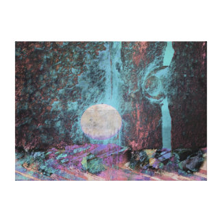Moon Art   Fantasy Canvas Print