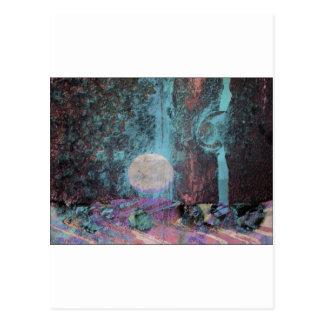 Moon Art Fantasy Postcards