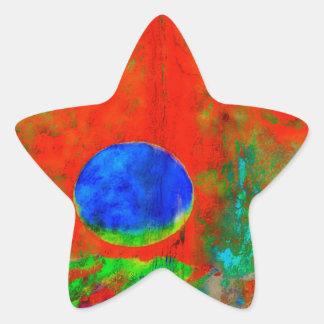 Moon Art | Orange Aroma Stickers