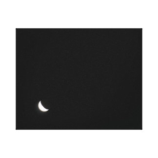 Moon at Night Canvas Canvas Print