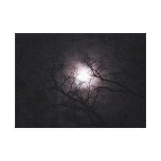 Moon At Twilight Canvas Print