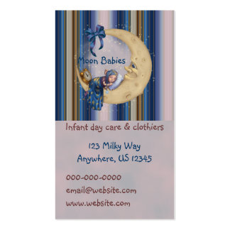 Moon Baby Elf Business Card Templates