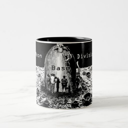 Moon Base Lift Off Beverage Containment System Mug