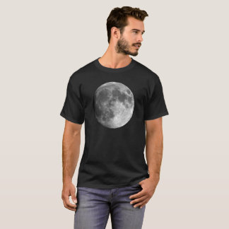 Moon Basic Dark Men's T-Shirt - Planets