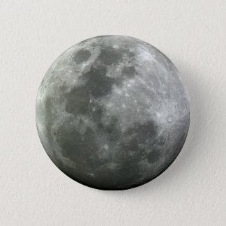 Moon button! 6 cm round badge