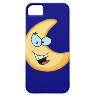 Moon Cartoon Character iPhone 5 Cover