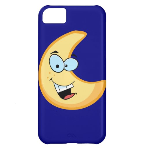 Moon Cartoon Character Case For iPhone 5C