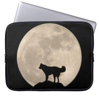 Moon Case Full Moon Lap Top Case w Husky