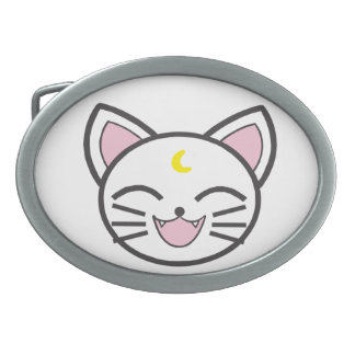 moon cat belt buckle