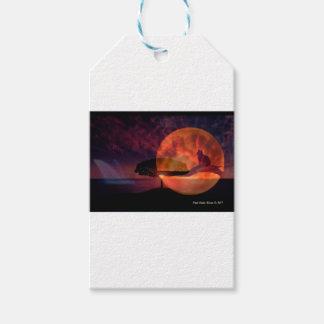 Moon cat meditations. gift tags