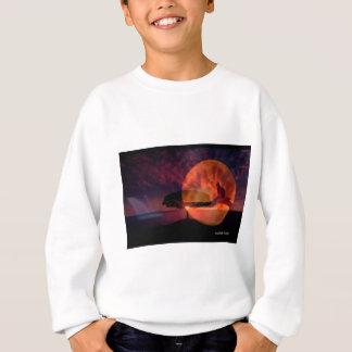 Moon cat meditations. sweatshirt