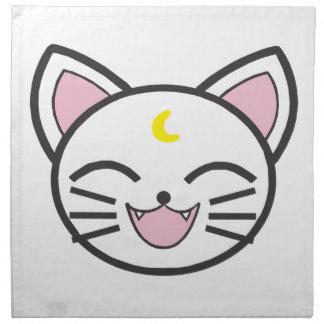 moon cat napkin