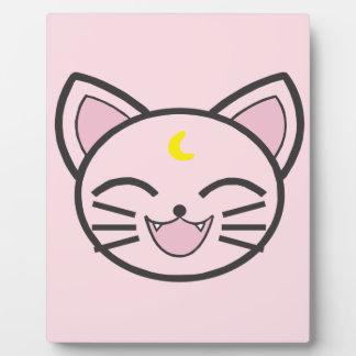 moon cat plaque