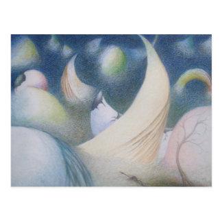 Moon Cemetery II Postcard